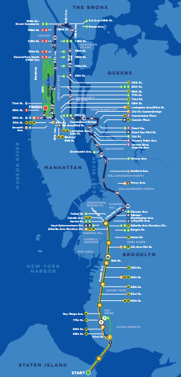 TCS NYC Marathon Route