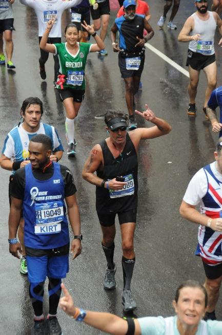 NYC Marathon Finish Line Perry Sasnett
