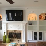 Fireplace Surround With Build In Cabinets