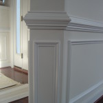 Chair Rail and Shadow Boxes Installation