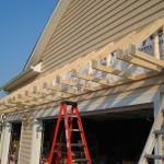 Over Garage Doors Roof Building