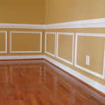 Chair Rail and Interior Painting