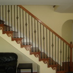 Hardwood Stairs and Railling