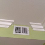 Crown Moulding Stop Around Vent Option
