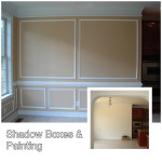 Shadow Boxes and Interior Painting