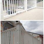 Balcony Custom Railing Build In