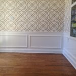 Chair Rail and Paneling