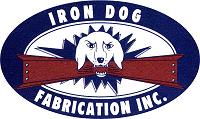 Iron Dog Fabrication Logo