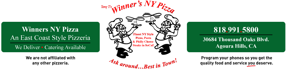 WInners NY Pizza