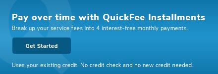 QuickFee Financing