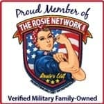 rosie network verified military family-owned