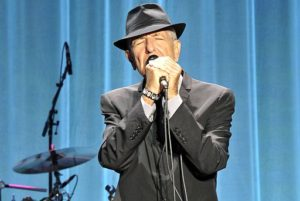 Photo of Leonard Cohen