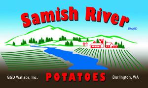 Samish River label