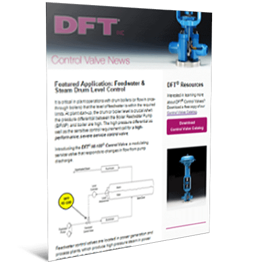 Selecting the Right Control Valve