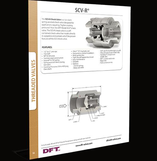 SCV-R® Restrictor Check