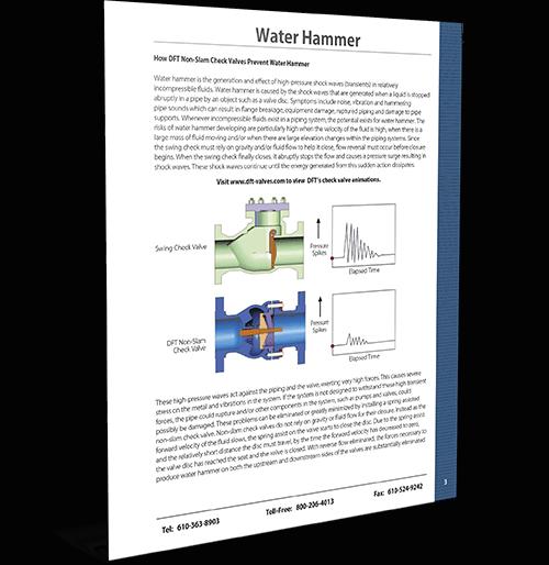 Water Hammer Summary