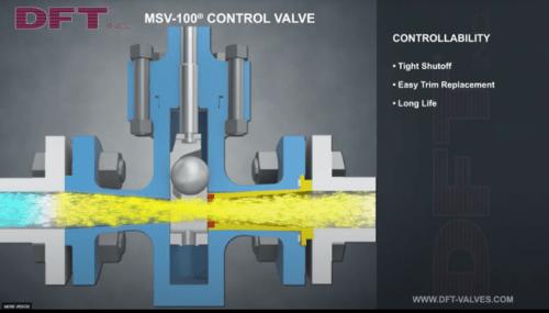 MSV-100 Control Valve Controllability
