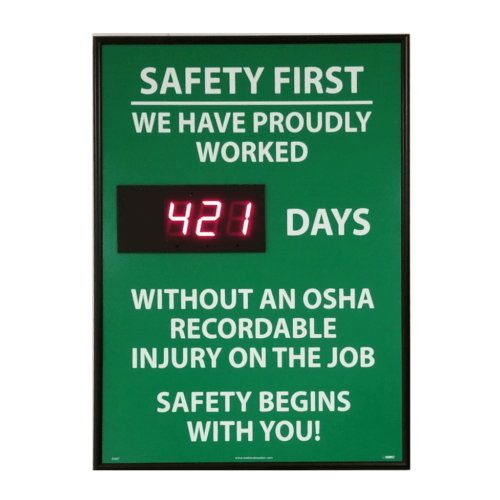 OSHA Recordable Safety Meter