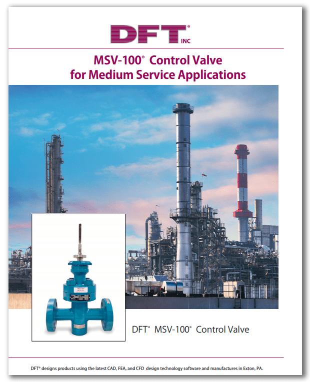 MSV-100® Control Valve