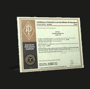 API 6D Certificate