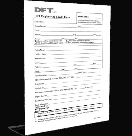 DFT Engineering Credit Form