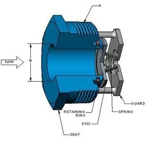 Vacuum Breaker Check Valve diagram