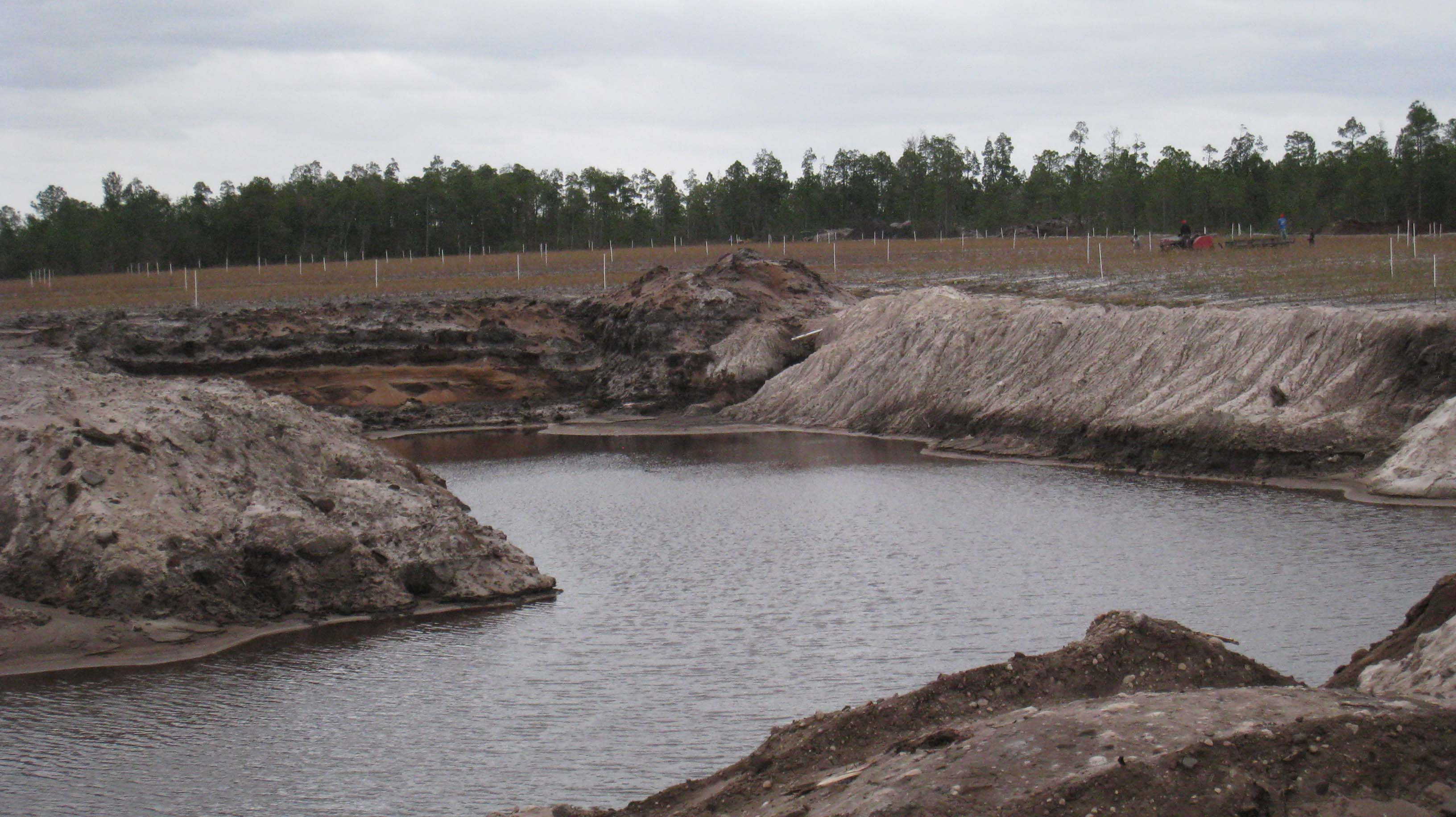 Ponds must be included in new site plans