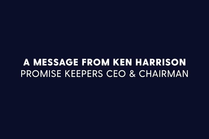 Message from Ken Harrison
