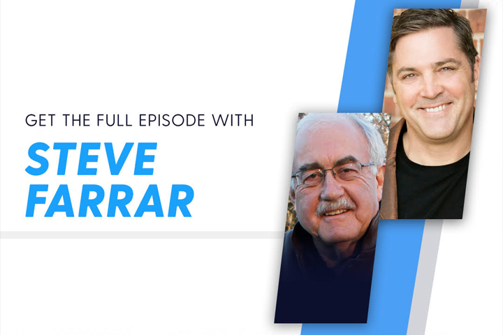 In 'On the Edge with Ken Harrison,' Steve Farrar Shares How His Personal Experience with Depression Lead Him to Become a Champion of Men's Ministry