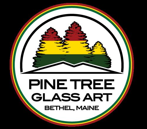 Pine Tree Glass Art