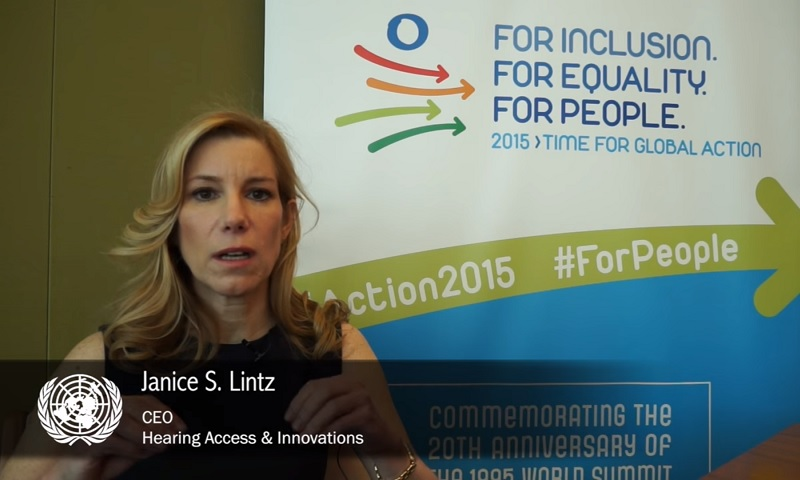Interview with Janice S. Lintz, Hearing Access & Innovations