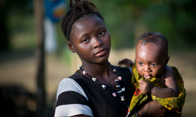 A lifeline for mothers and babies in Sierra Leone