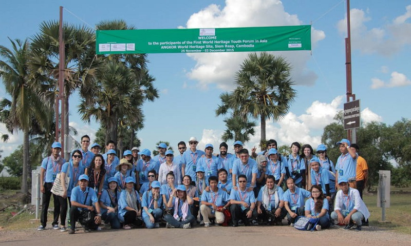 1st World Heritage Youth Forum in Asia Urges Young People to Take Action