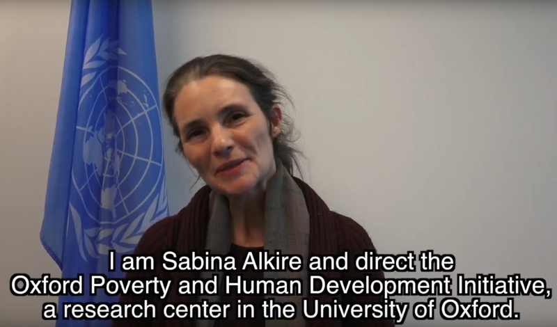 UNSDN Interview with Sabina Alkire