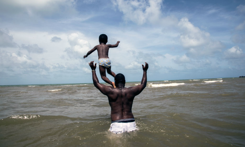 New UNICEF campaign spotlights fathers' critical role in children's early development
