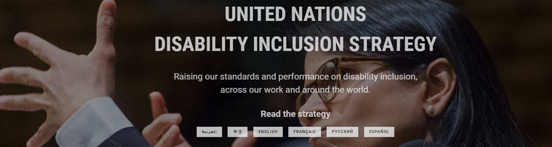 United Nations Disability Inclusion Strategy