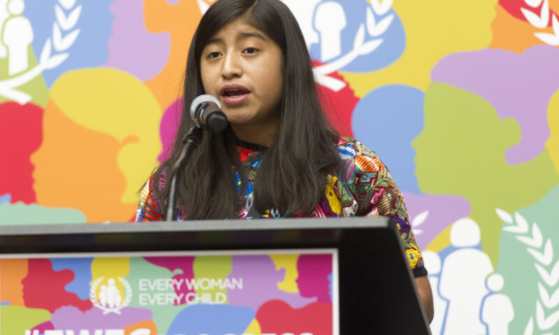 UN praises resilience and vision of younger generation