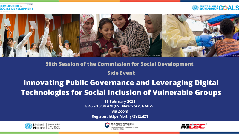 Public Governance and Digital Technologies for Social Inclusion