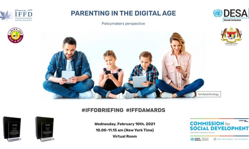 Parenting in the Digital Age: Policymakers Perspective