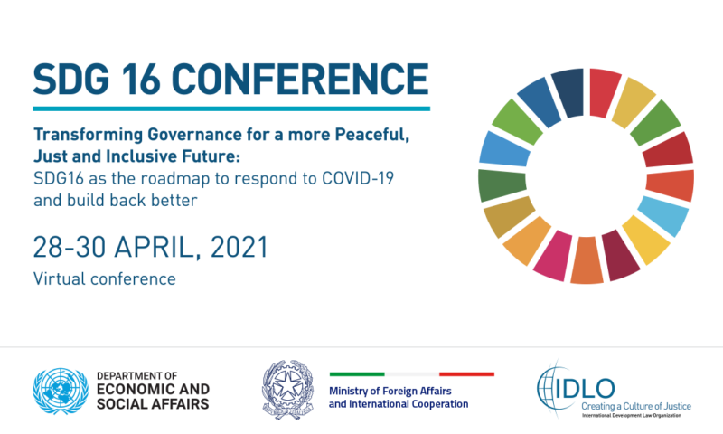 Transforming Governance for a more Peaceful, Just and Inclusive Future