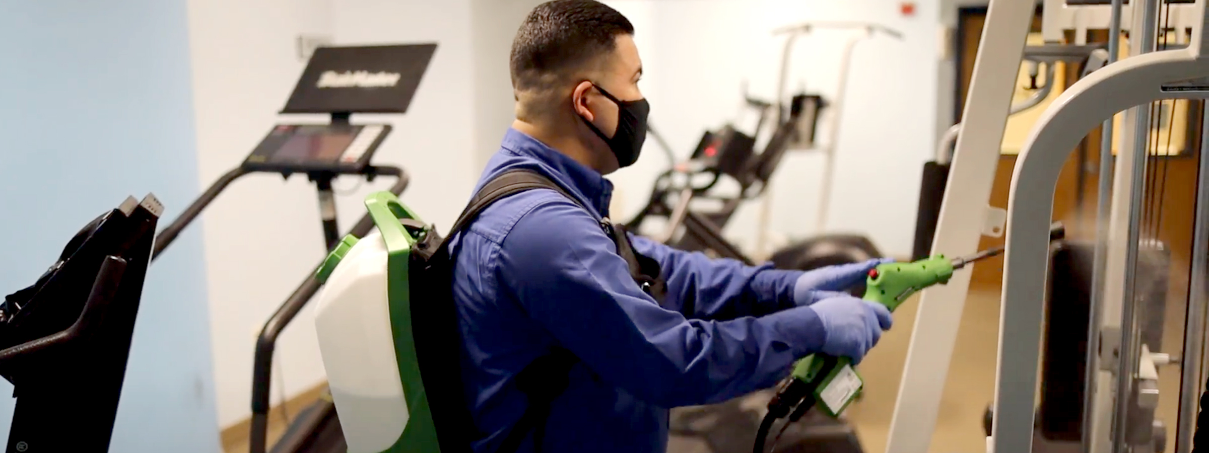 Gym Disinfection Services