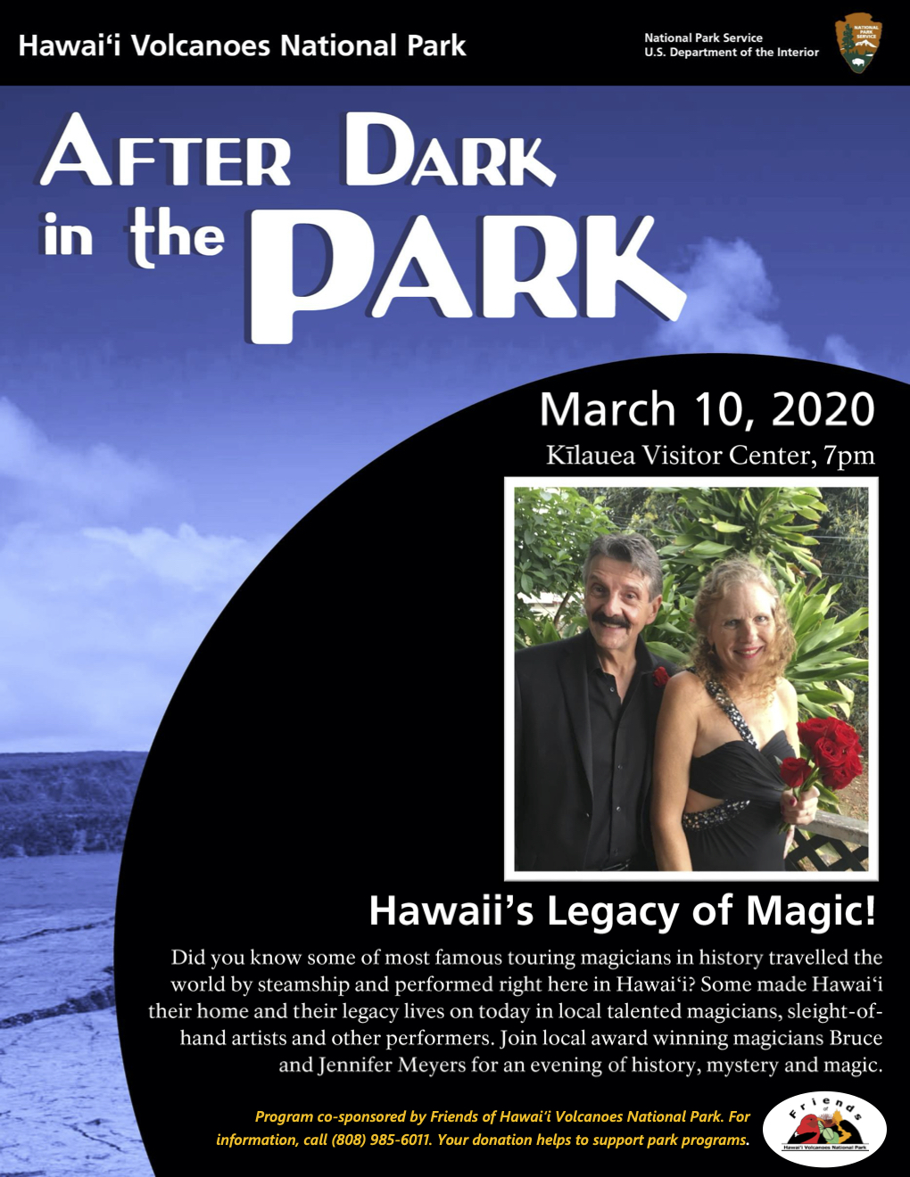 After Dark Magic Poster
