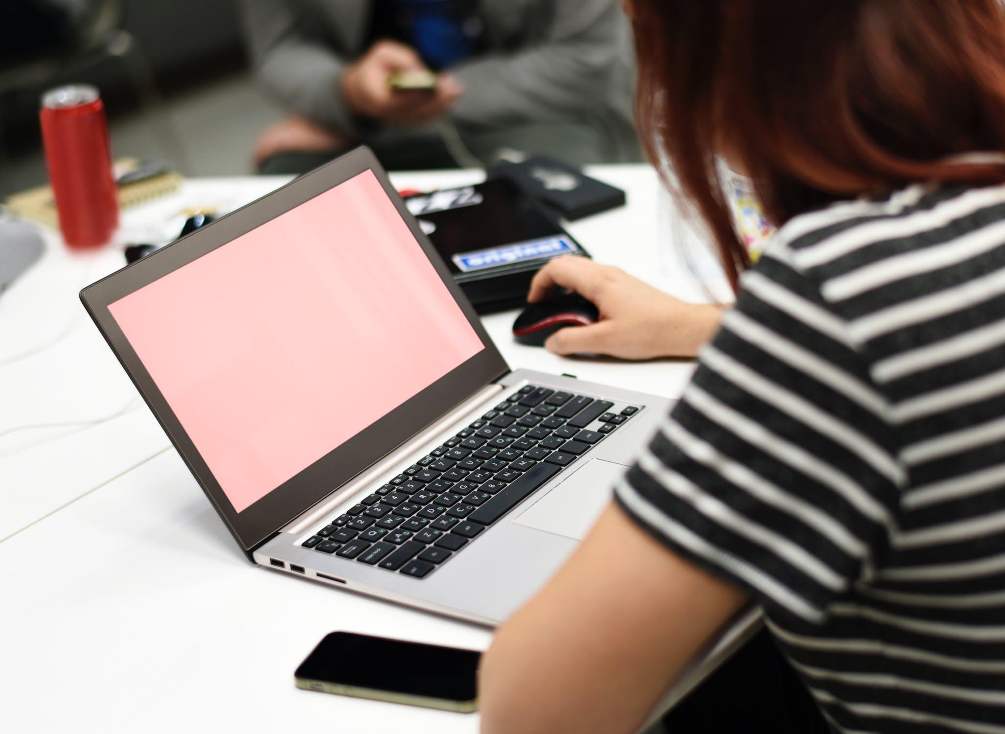 productivity, woman, computer, efficiency