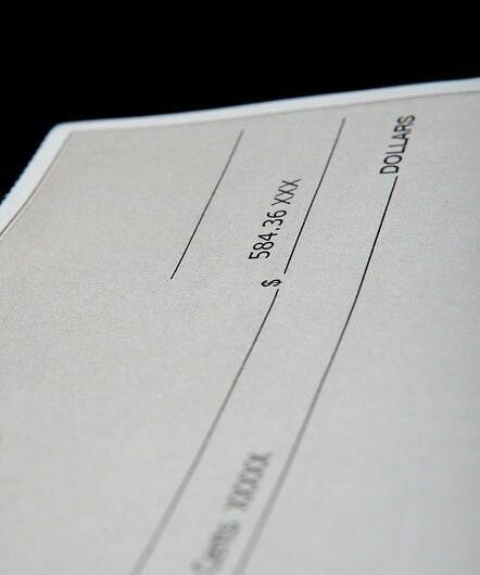 deposit, check, cash, payment, money