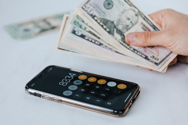 online cpa, taxes, cash, calculator