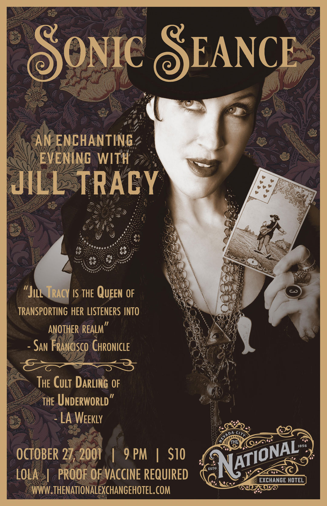 Jill Tracy's SOnic Seance at the National HOtel