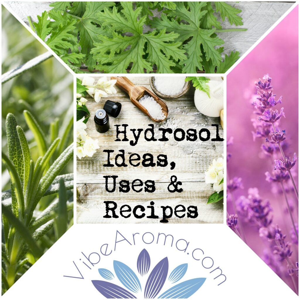 Hydrosol Recipes, Ideas and Uses