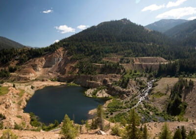 Stibnite Gold Mine Environmental Impact Statement and Historic Mining District Restoration