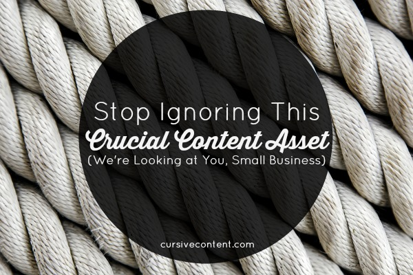 Why website content matters to small business