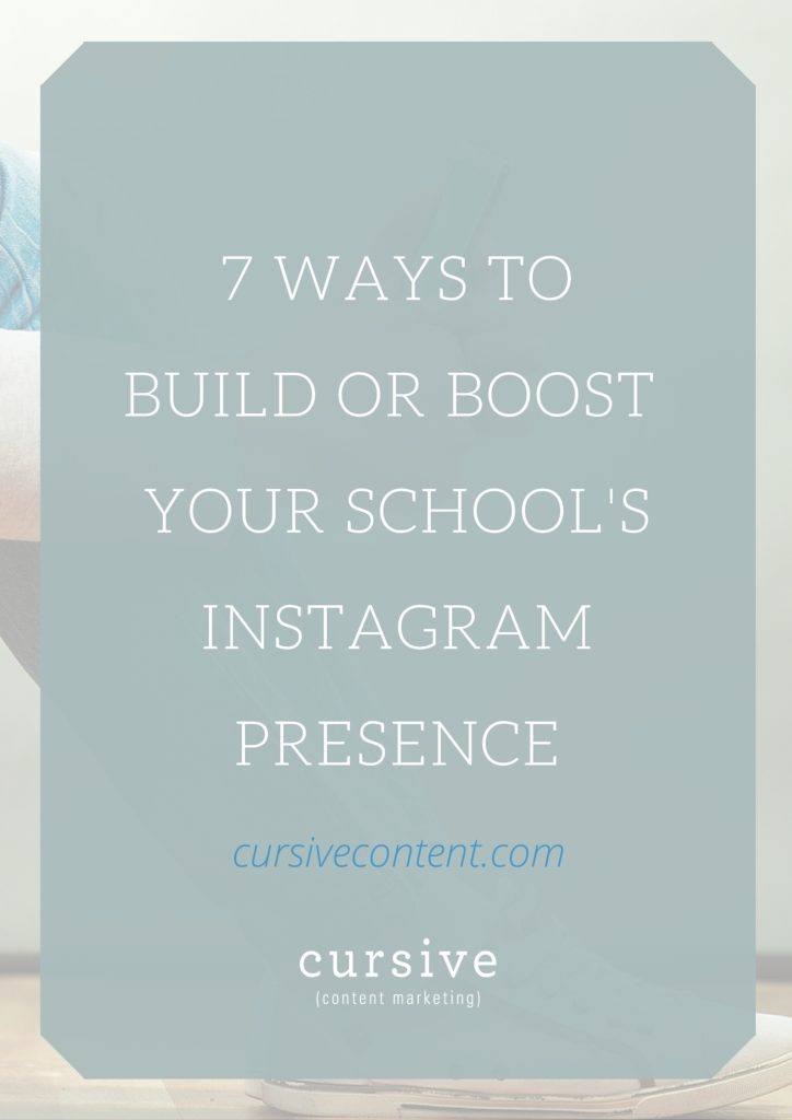 Your campus is a vibrant and busy. Your students are a successful, engaged bunch. Your school is a beautiful, amazing place to be. There are so many stories there, waiting to be told—and Instagram is a great place to not just tell them, but show them. Here's how.